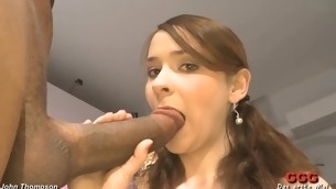 Lusty dudes are spraying their cumshots into sweetheart's frowardness
